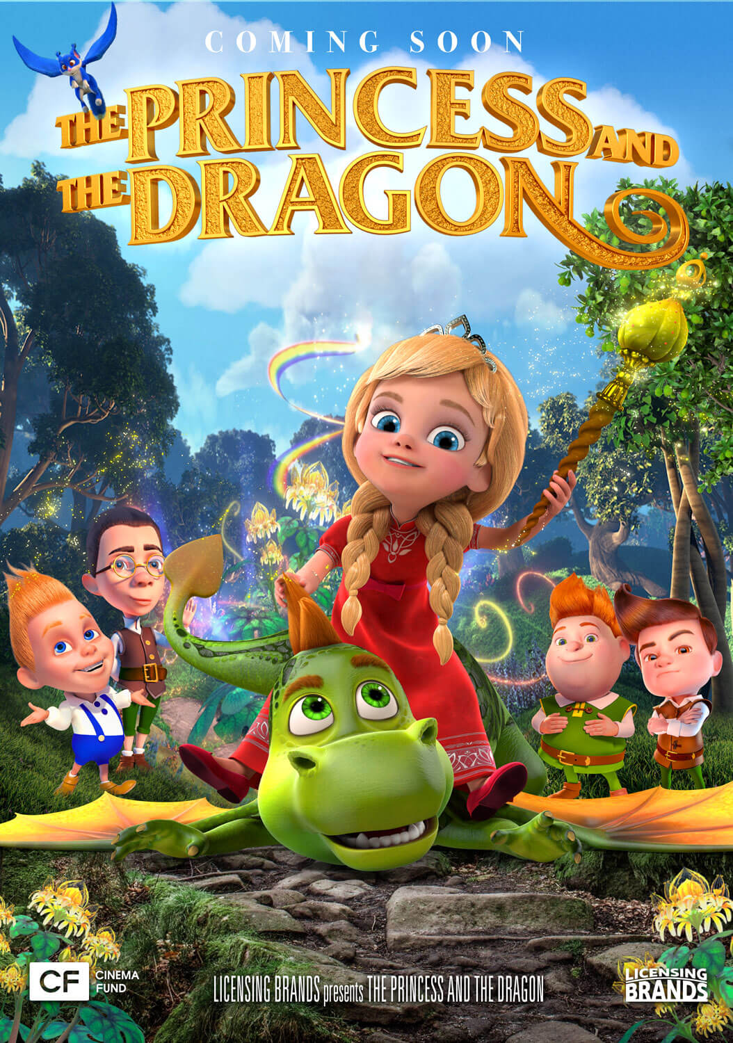 Princess and the Dragon 3D